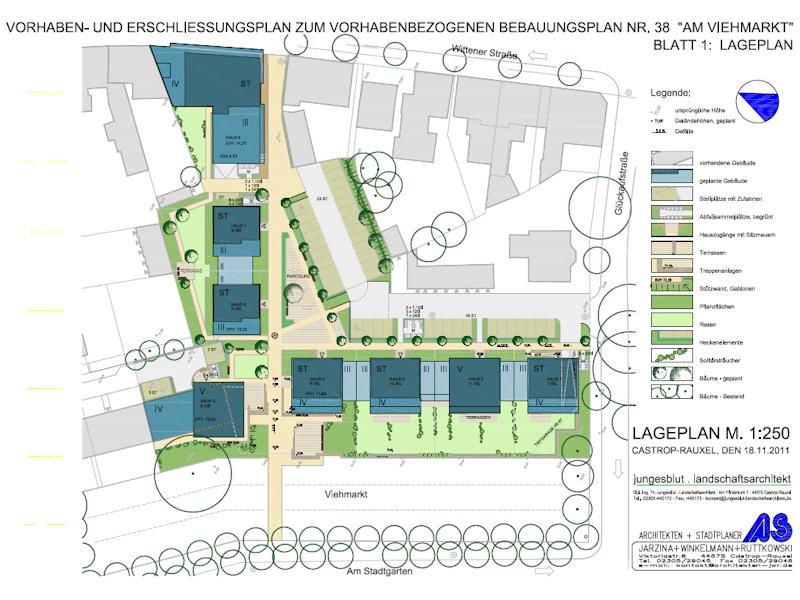 Stadtplanung und Städtebau - Projekte